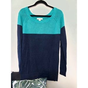 Banana Republic Color-Block Sweater (S)